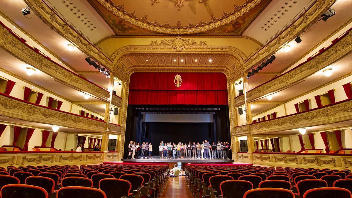 Interior del Teatro Guimerá de Santa Cruz de Tenerife.