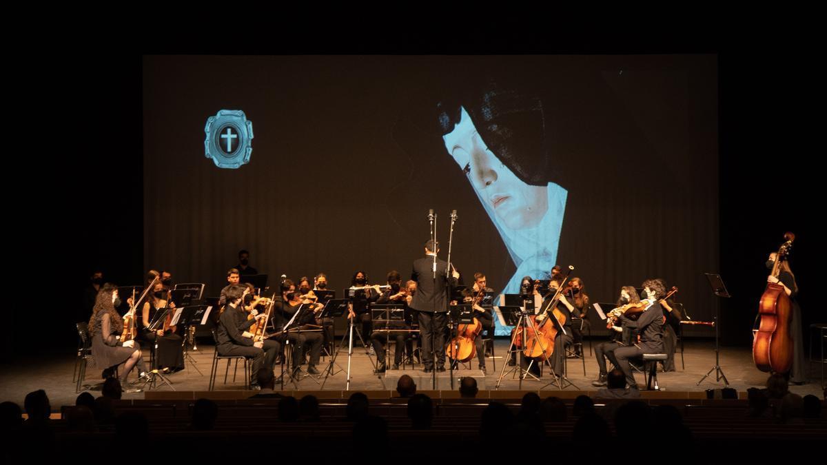 Joven Orquesta Sinfónica de Zamora.