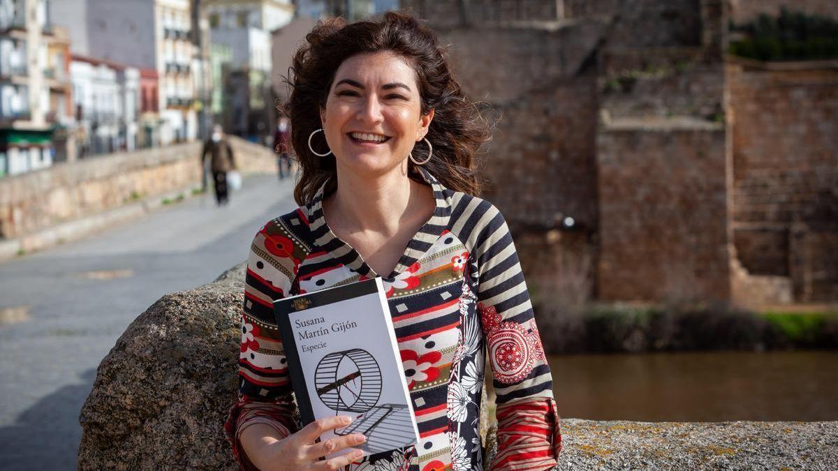 La escritora Susana Martín Gijón en una imagen de archivo.