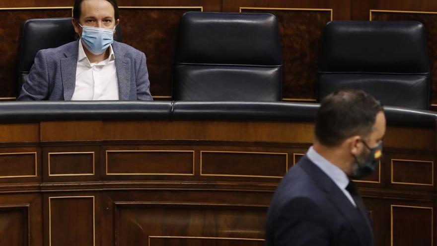 Iglesias y Vox: confrontación de alto voltaje en Madrid en busca del voto obrero