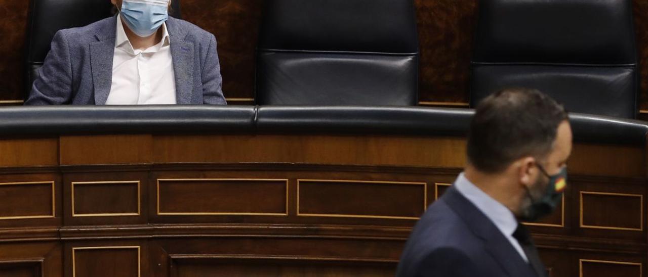 El candidato a las elecciones madrileñas de Unidas Podemos, Pablo Iglesias.