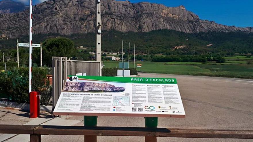 L'Alt Urgell senyalitza  les cinc principals zones naturals d'escalada