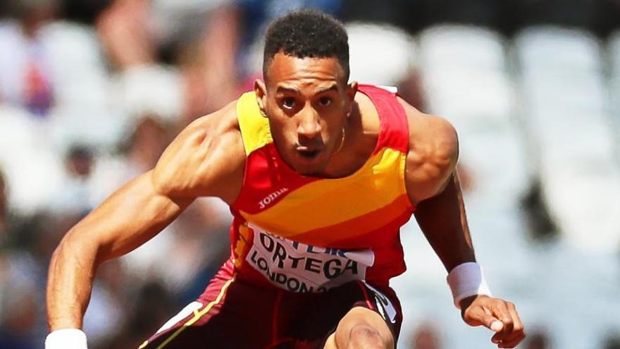 Orlando Ortega, a la final de 110 metros vallas por tiempos