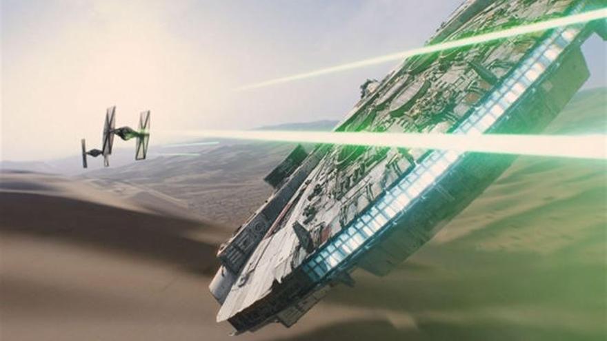 Se publica la primera imagen del Halcón Milenario en 'Star Wars 8'