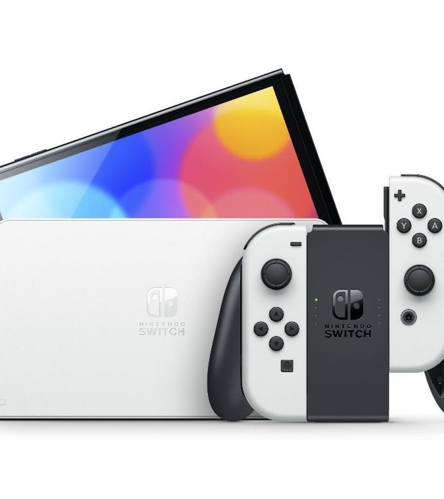 La nueva Nintendo Switch OLED llega este viernes