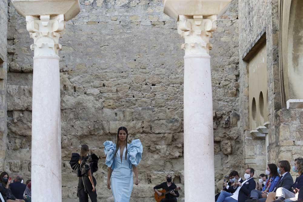 Juana Martín desfila en Medina Azahara
