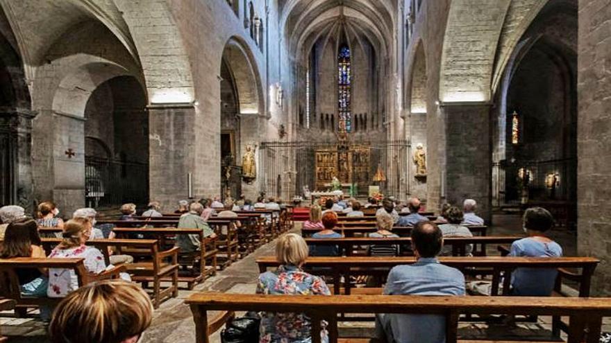Girona Missa en record dels difunts de l'Hospitalitat de Lourdes