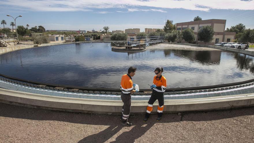 Ecologistas y vecinos denuncian las graves amenazas que para el espacio marino de Tabarca suponen los masivos vertidos de la depuradora de Rincón de León