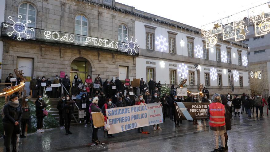 """Profesionales de Enfermería del área de Vigo denuncian la """"precariedad"""" laboral en el Sergas"""