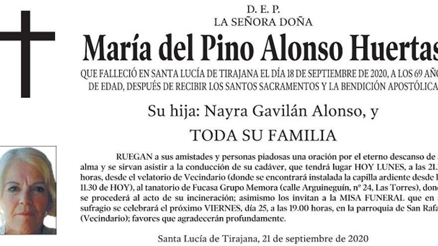 María del Pino Alonso Huertas