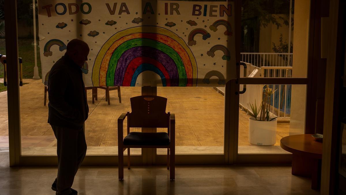 Imagen de archivo de una residencia geriátrica de Alicante