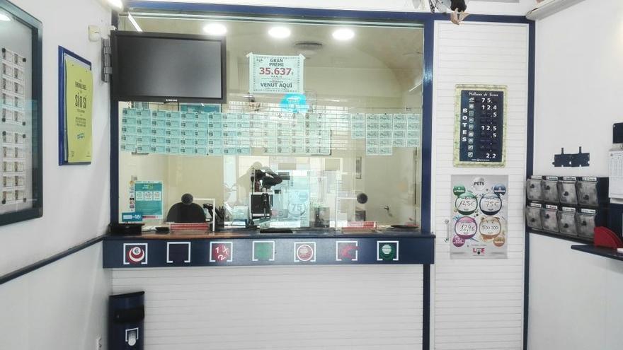 La loteria Illa de Figueres reparteix un premi de 575.000 euros de la Bonoloto