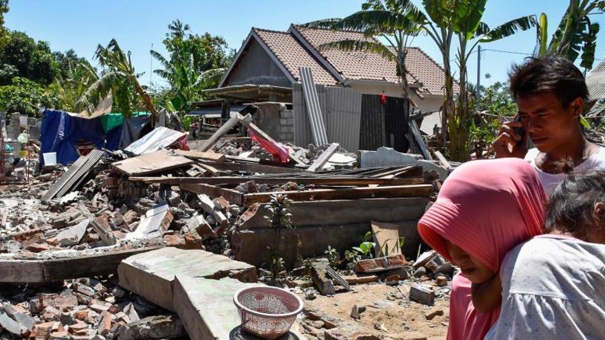 Ascienden a 557 los muertos por los seísmos de Lombok