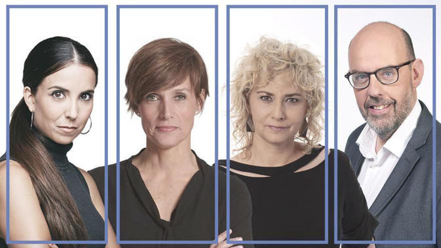 Laura Rosel, Raquel Sans, Mònica Terribas i Jordi Basté presentaran La Marató de TV3 per la covid-19