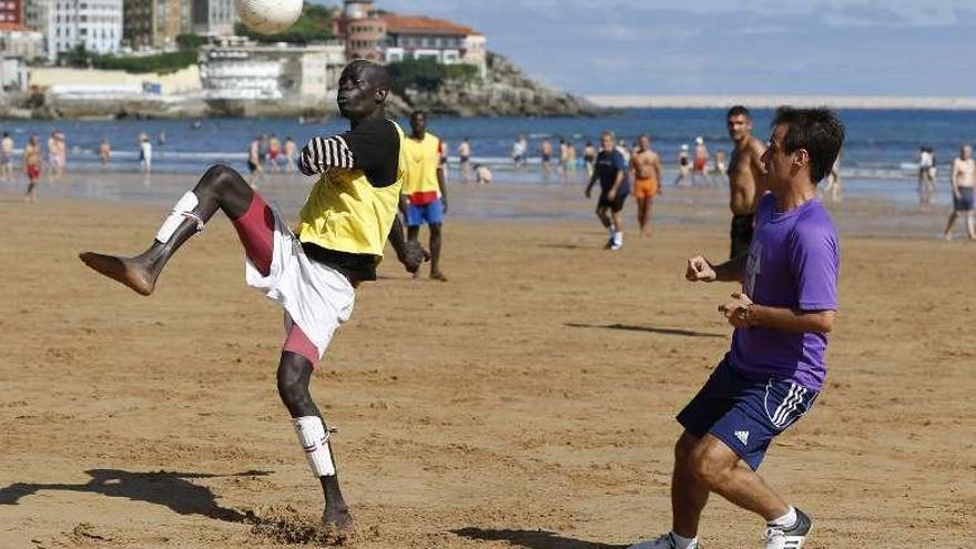 San Lorenzo acoge un torneo para niños