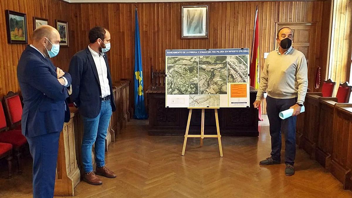 Medio millón de euros para el saneamiento de Piloña