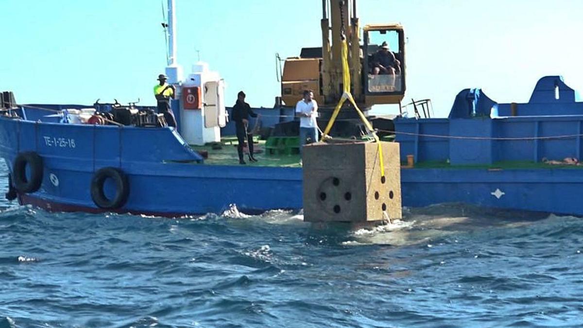Alicante ya cuenta desde hace años con una bodega submarina, de la que extraen sus vinos.
