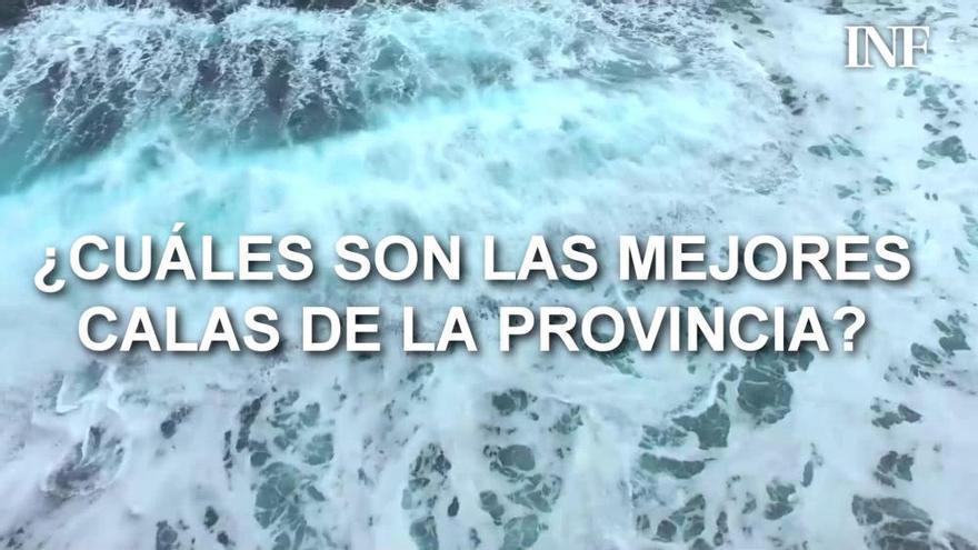 Estas son las mejores calas de la provincia de Alicante