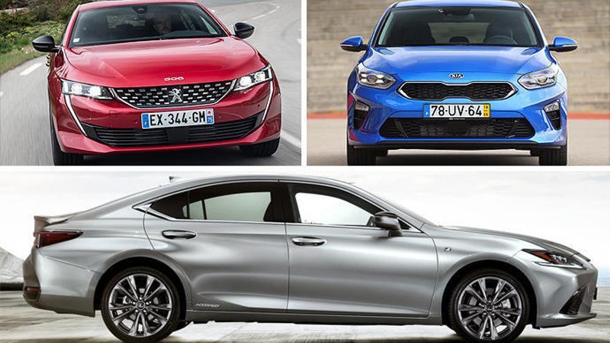 Lexus ES, Peugeot 508 i Kia Ceed se sumen a la lluita del Cotxe de l'Any dels Lectors
