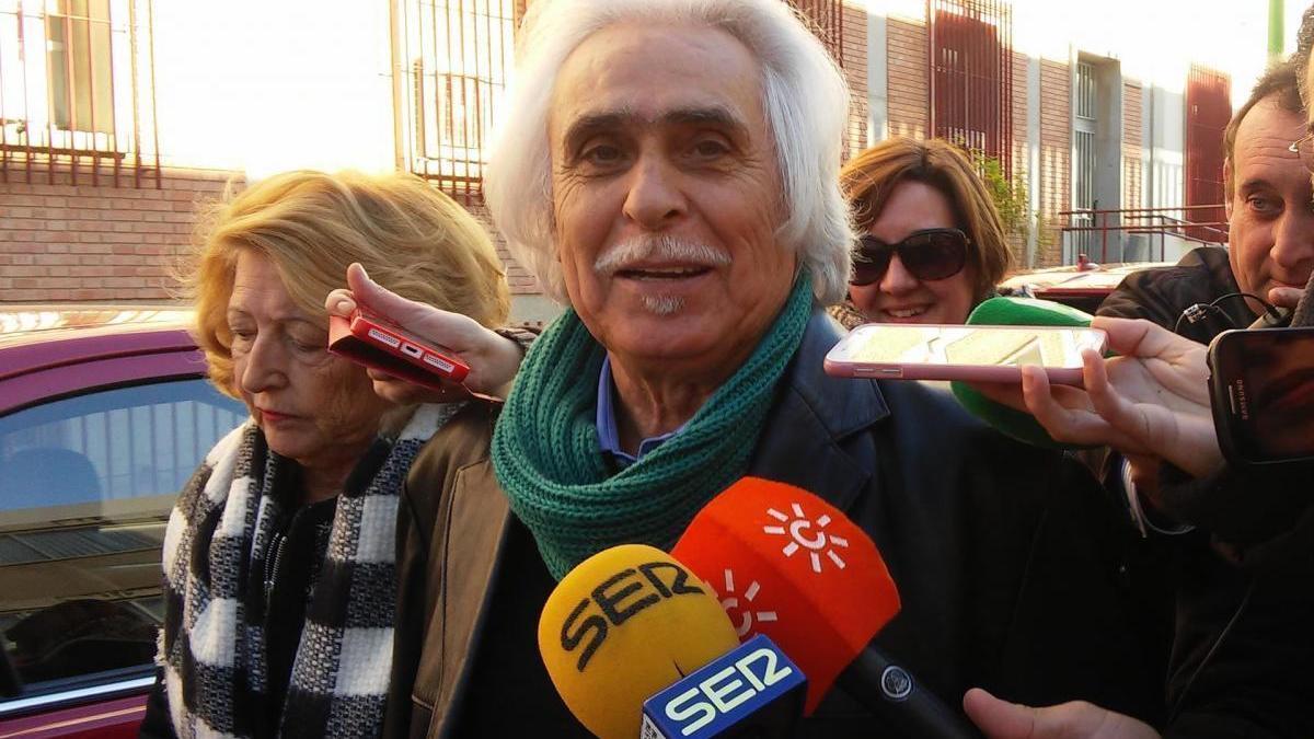 Rafael Gómez y su mujer, ingresados con coronavirus en Córdoba
