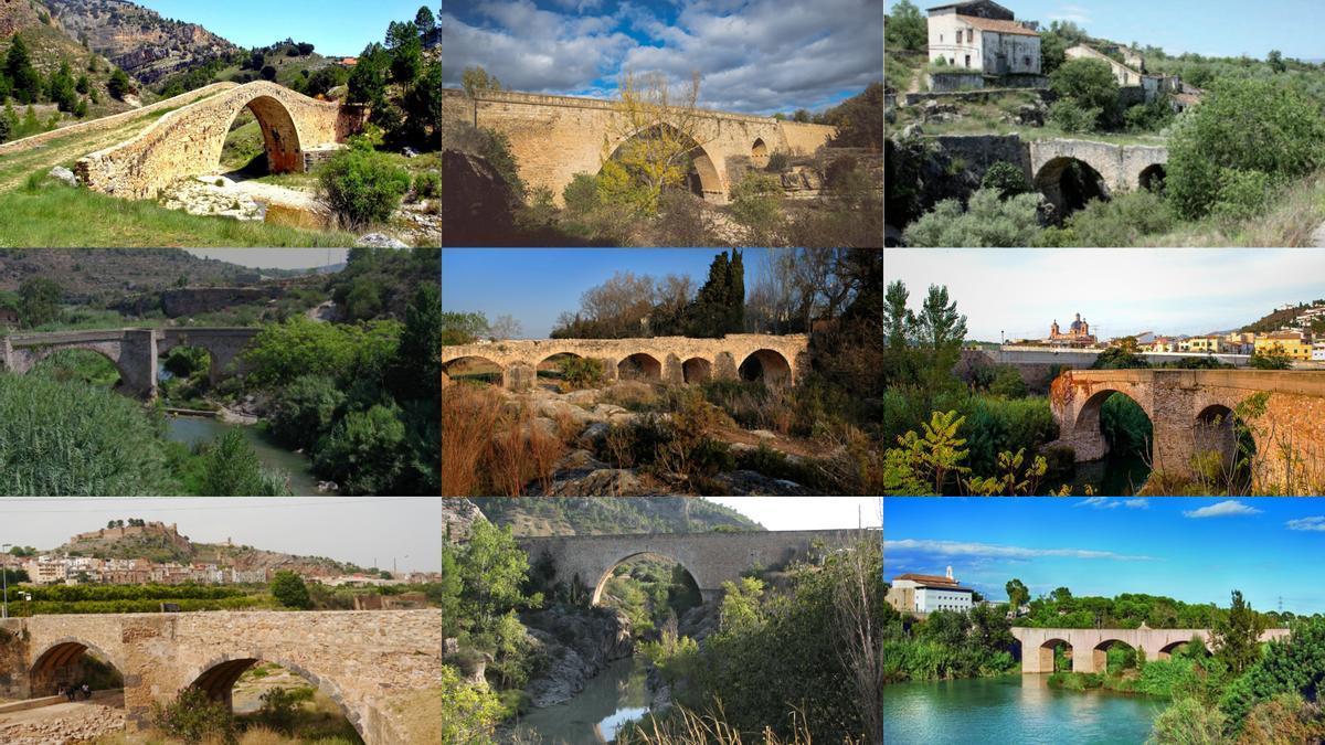 Los puentes más antiguos de Castellón.