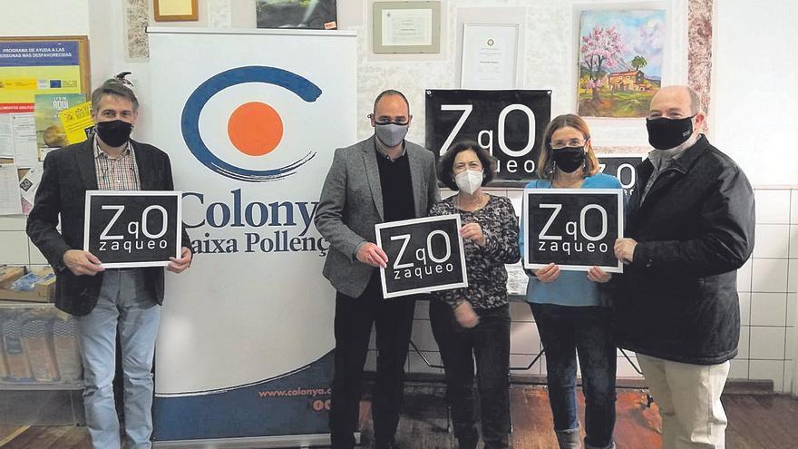 Colonya Caixa Pollença dona 6.000 euros a Zaqueo