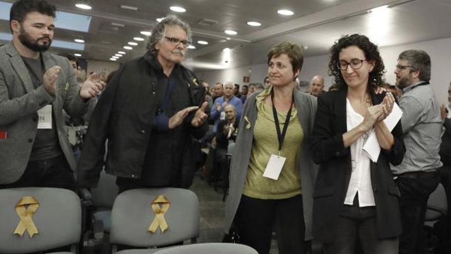 ERC aposta per una llista unitària que també inclogui la CUP i part de Podem