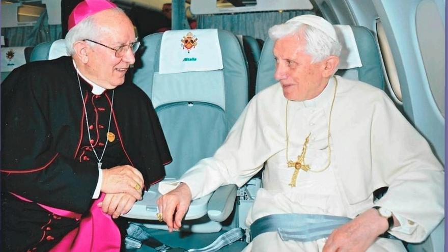 Fallece el leonés Félix del Blanco, limosnero de Benedicto XVI