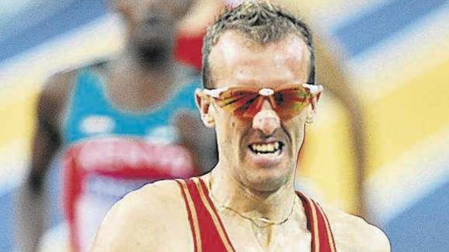 Herido grave el atleta Sergio Sánchez