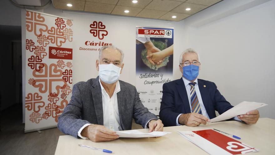 Spar Gran Canaria y Cáritas aúnan esfuerzos