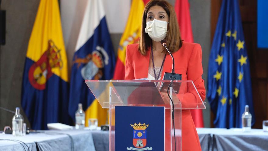 Carmen Hernández toma la Alcaldía de Telde