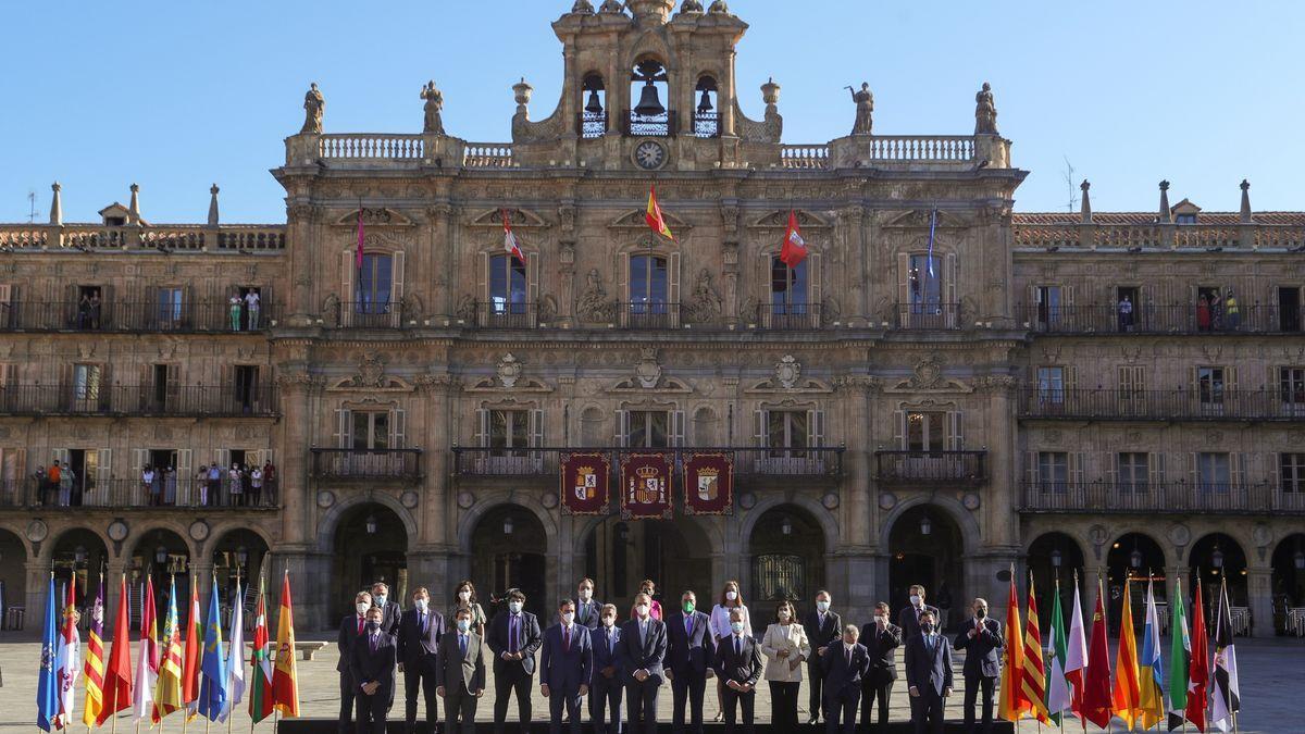 Reunión de la Conferencia de Presidentes, en Salamanca.
