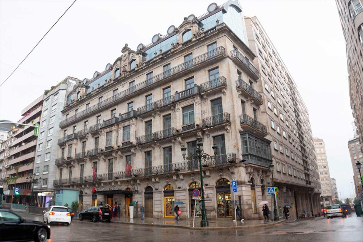 Casa de Oya, actualmente el Hotel NH | Ricardo Grobas