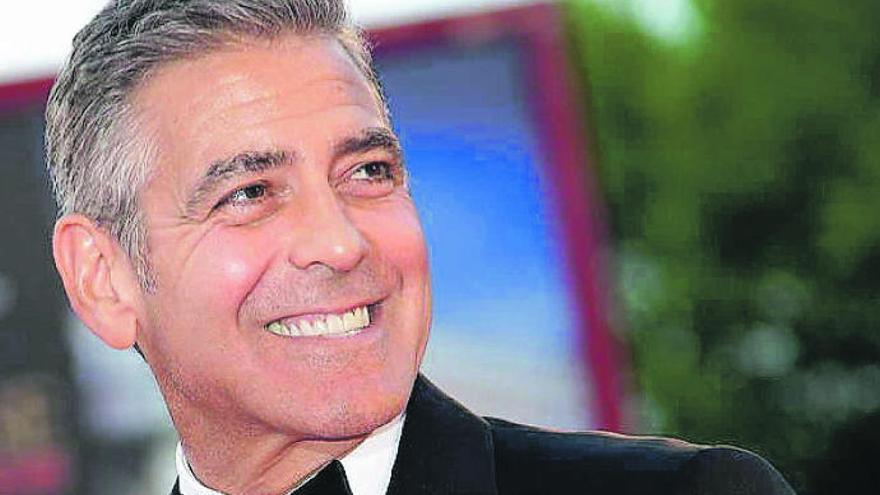 George Clooney, en La Palma para rodar 'Good morning, midnight'