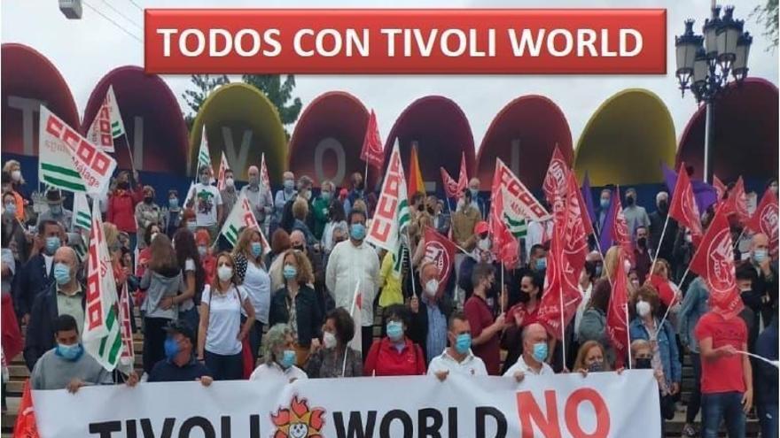 Una manifestación exigirá la apertura de Tívoli World este verano