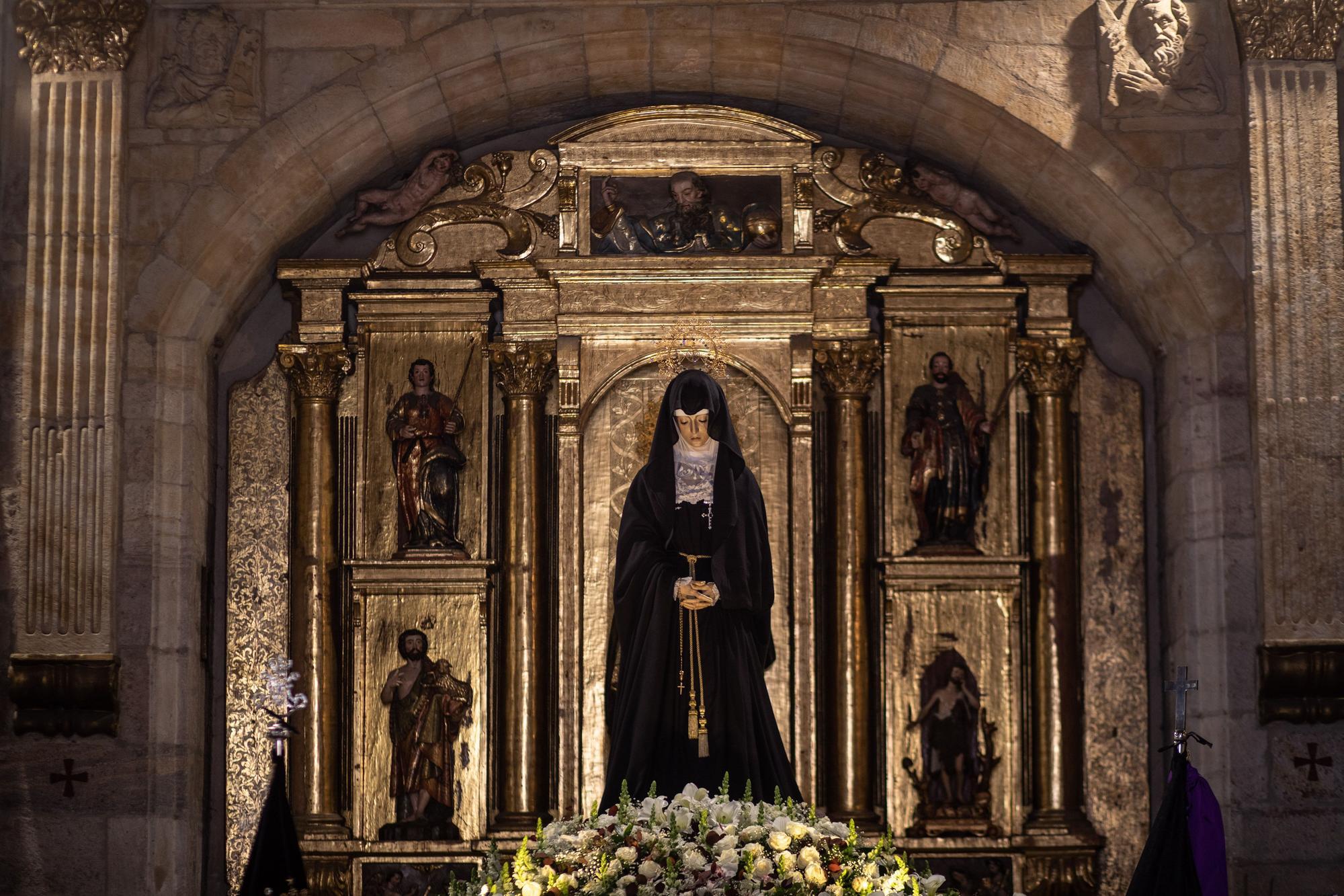 GALERÍA | Via Matris de la Virgen de la Soledad