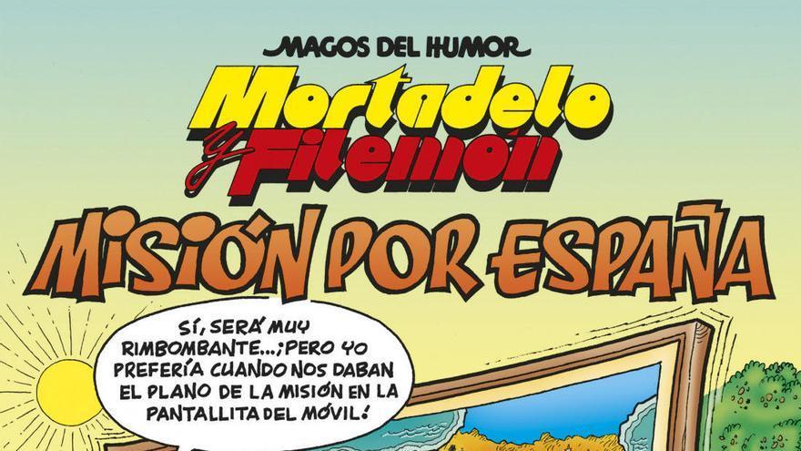 Mortadel·lo i Filemó recorren Espanya en el nou còmic de Francisco Ibáñez