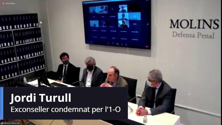 Jordi Turull serà el primer a recórrer davant Europa després de la sentència del Constitucional