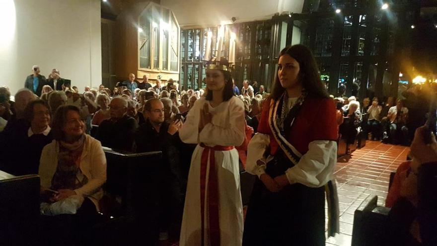 Las dos Lucías unen pueblos y culturas