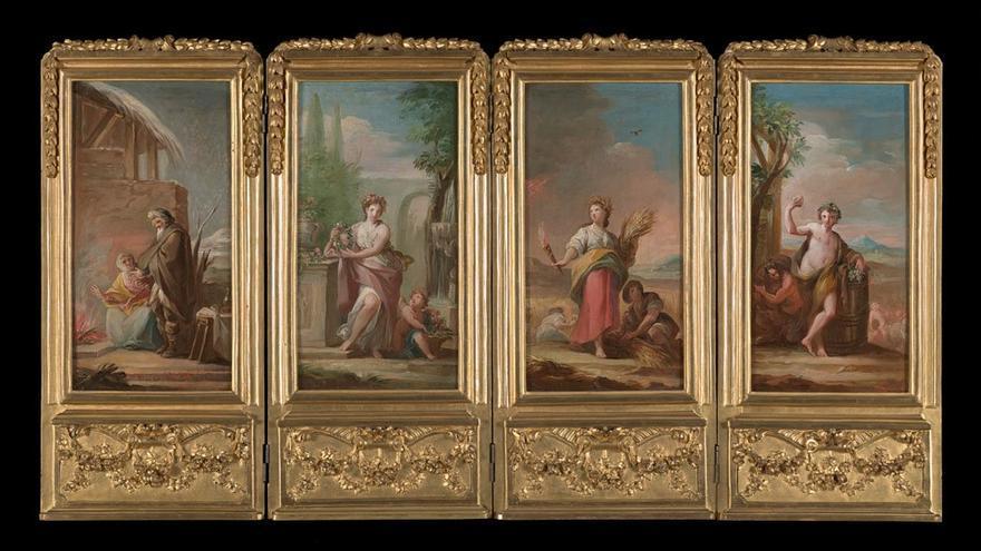 Estas son las obras del depósito de los Condes de Villagonzalo que se podrán ver en el Museo de Bellas Artes de Asturias