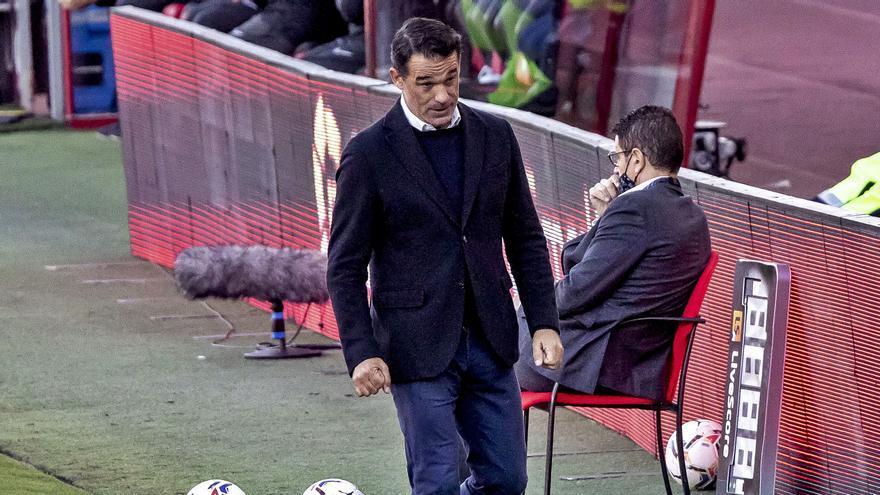 Luis García: «¿El punto? Es lo justo visto lo visto sobre el verde»