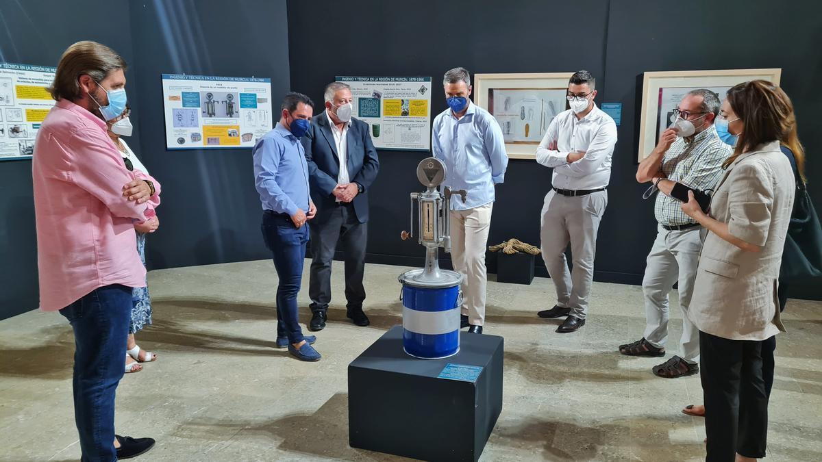 Exposición inventores en Caravaca