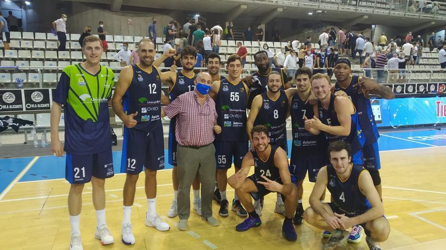 Corazón de campeón: así se forjó la remontada imposible del Oviedo Baloncesto en Alicante (96-97)