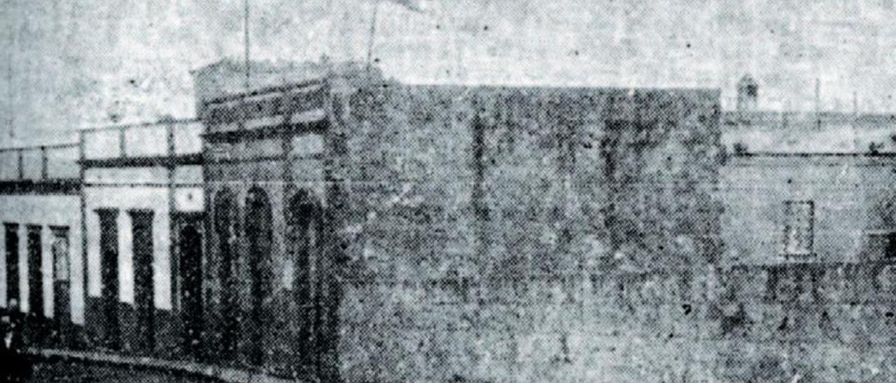 La casa de El Cerrillo donde se produjo el tiroteo.