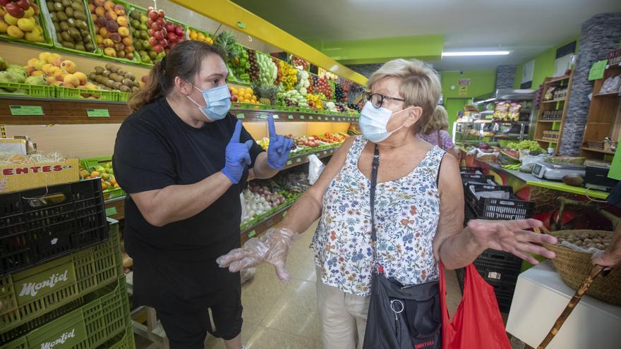 Los vecinos de Eusebio Estada, resignados al confinamiento