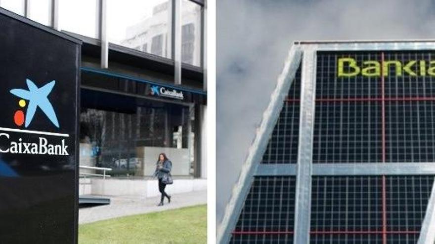 Acord entre CaixaBank i Bankia: els bancs convoquen per a dijous els consells d'administració