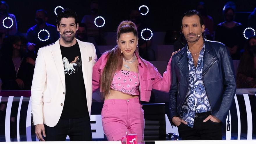 'The Dancer' acaba su fase de audiciones: así quedan los equipos de Lola Índigo, Miguel Ángel Muñoz y Rafa Méndez