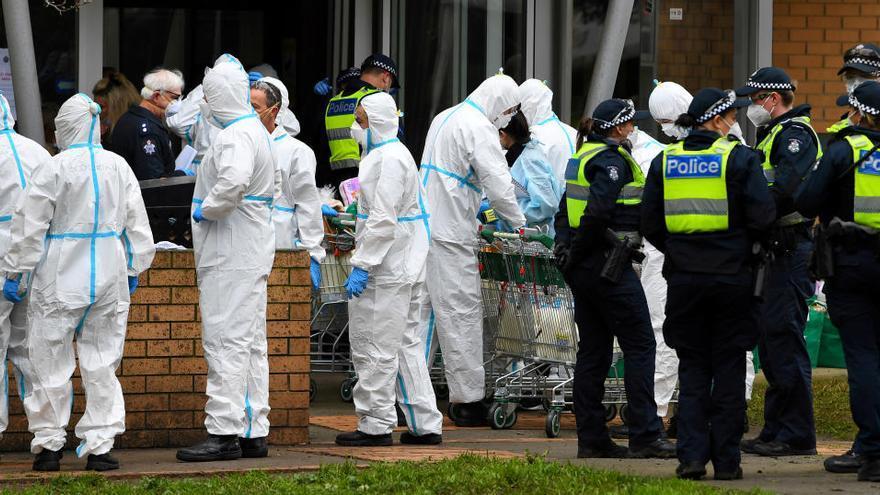 Australia decreta seis semanas de confinamiento en Melbourne tras un rebrote