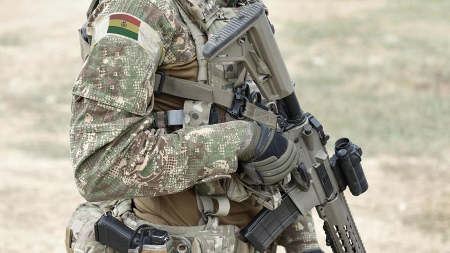 Hallan muerto tras cinco días al soldado boliviano que cayó a un río
