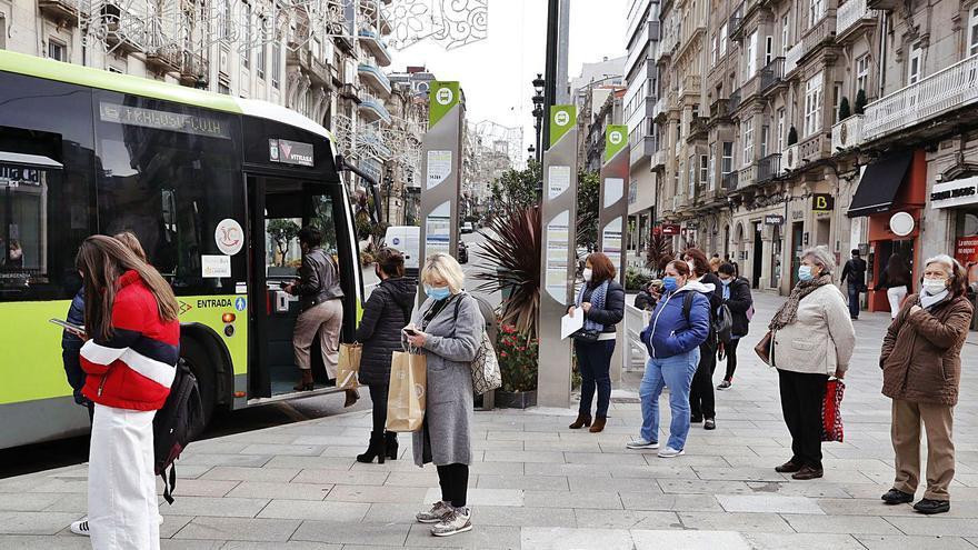 Nuevas medidas anticovid en el transporte público gallego